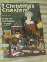 Christmas Coasters House Of White Birches Plastic Canvas Pattern Booklet... - $2.99