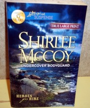 Undercover Bodyguard Shirlee McCoy (Heroes for Hire)(Love Inspired LP Su... - $3.00