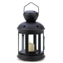 Western Outpost - BLACK COLONIAL CANDLE LAMP - $10.73