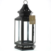 Western Outpost - LARGE BLACK STAGECOACH LANTERN - $39.15
