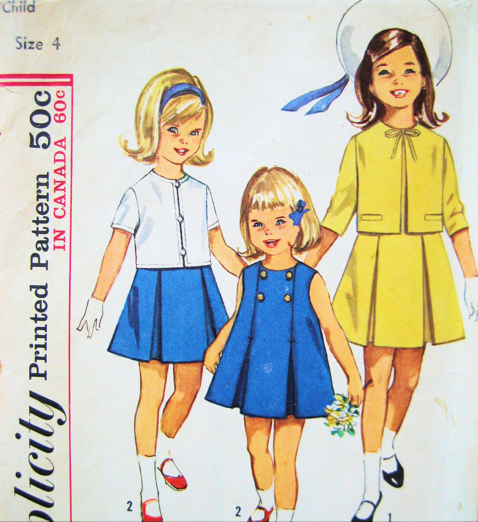 acbfa6bd3db7d Patterns fs 039 2. Patterns fs 039 2. Simplicity 5341 Vintage 60s Girls Sz  4 Jumper Dress Jacket. Simplicity 5341 Vintage ...