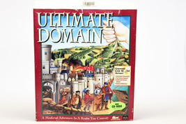 Ultimate Domain - Kingdom Building Strategy Game -DOS IBM PC- CD Rom Ver... - $29.70