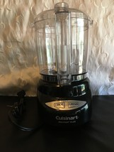 NEW CUISINART DLC-4CHB MINI-PREP PLUS 4 CUP FOOD PROCESSOR BLACK - $57.03