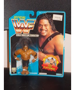 1993 WWF Fatu Of The Head Shrinkers Figure New ... - $34.99