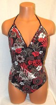 Beautiful Bright Floral Print One Piece Women's Swimsuit