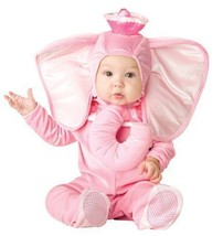 Pink Elephant Infant Halloween Costume Baby Photo Op 6-12 Months - $26.87