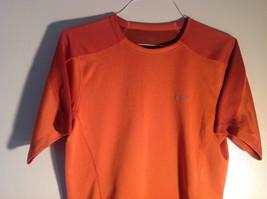 Small Orange sportswear Tee Short sleeve image 2