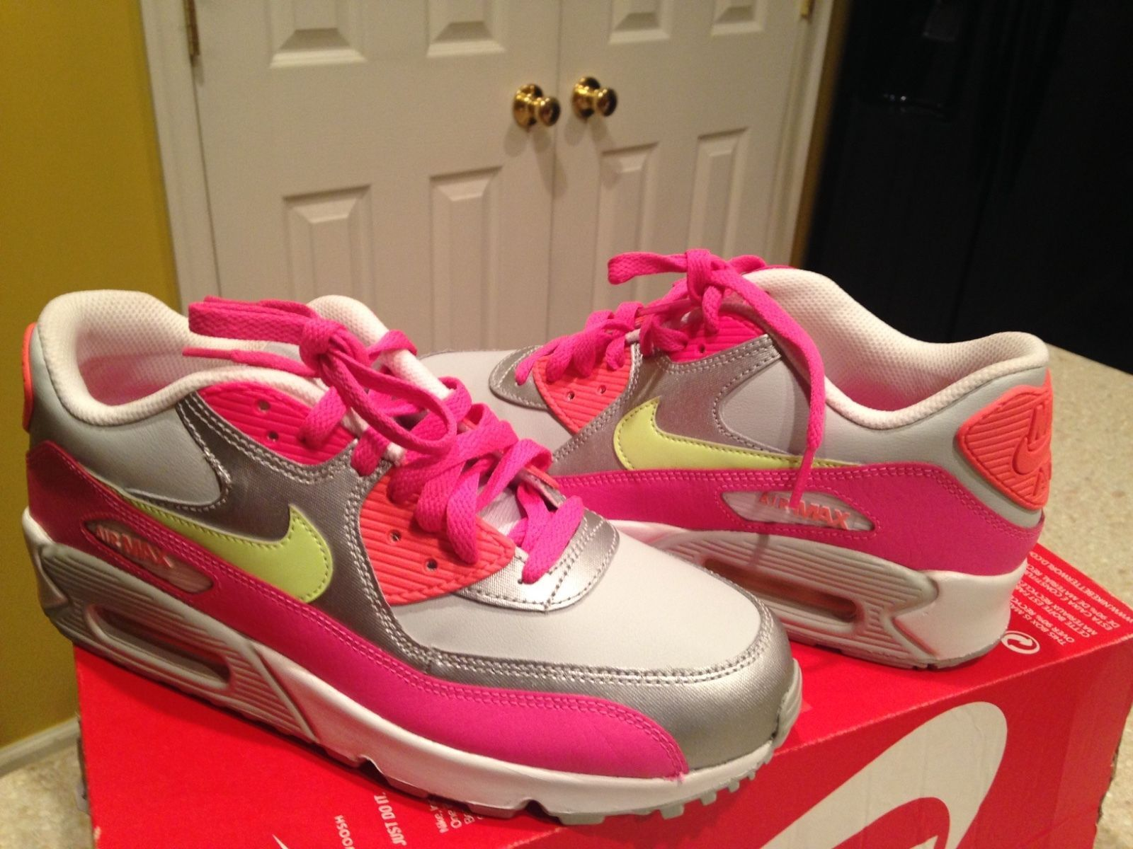 quality design 7f667 d0e1a Nike Air Max 90 LTR (GS) 724852 001 size and 50 similar items