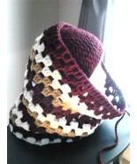 Burgundy Mix Hat & Cowl Set - $45.00