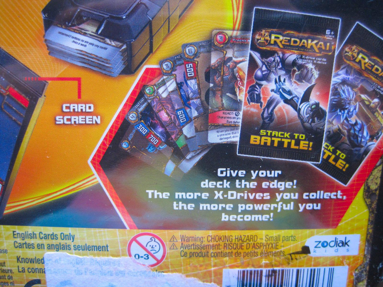 Redakai Championship Tin Conquer The Kairu Complete Trading Battle Cards New