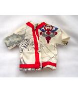 Vintage Barbie Asian Map Jacket Clothes - $19.99