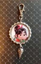 Vaneloppe   (Wreck It Ralph) Purse/Book Bag Clip, Zipper Pull/ KeyChain - $5.50