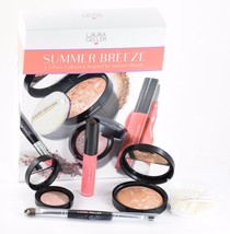 Laura Geller Summer Breeze 4Pc Makeup Collection Bronzer Lip Gloss Eye Shadow - $25.73