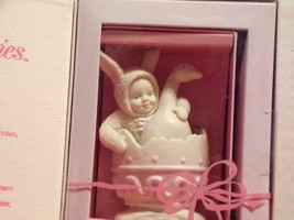 Dept 56 Snowbunnies Double Yolk 1998 Springtime Stories 26293-NEW IN BOX - $5.88