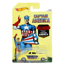 NEW Mattel Hot Wheels 1:64 Die Cast Car Marvel Captain America '40 FORD ... - €12,79 EUR