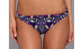 NEW BECCA Rebecca Virtue Swimwear Synergy Bikini Bottom S Small Multicolor - $4.94