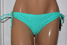 NWT Kenneth Cole Reaction Sage Crochet Sidetie Bikini Swim Bottom S M L XL - $7.99