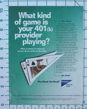 1998 Principal Financial Group Print Ad - $9.50