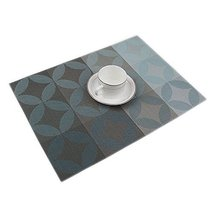 "Set of 4 New Durable PVC Place Mats 18.1"" x 13""-Four Matching Placemats ... - £17.53 GBP"