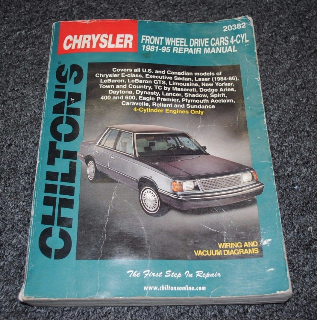 Vintage Chilton's Chrysler Auto Repair and 40 similar items. S l1600