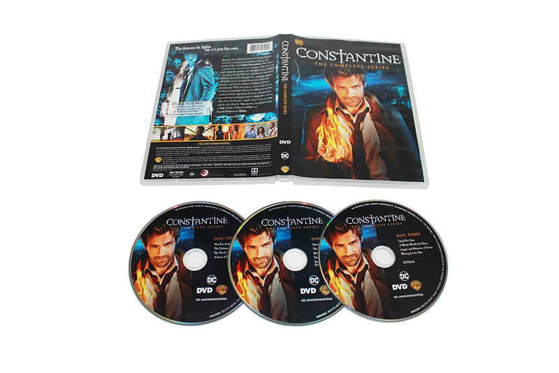 Constantine The Complete First Season 1 DVD Box Set 3 Disc Free Shipping