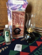 "Vintage New Box Lamplight English Garden Oil Lamp 14"" Table Lighting Decor - $24.74"