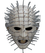 New 2016 Deluxe Pinhead Officially Licensed Halloween Mask Horror Hellra... - $74.51