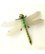 Dragonfly Lifelike Realistic Fairy Garden Terrarium Figurine Decor Insec... - $7.99