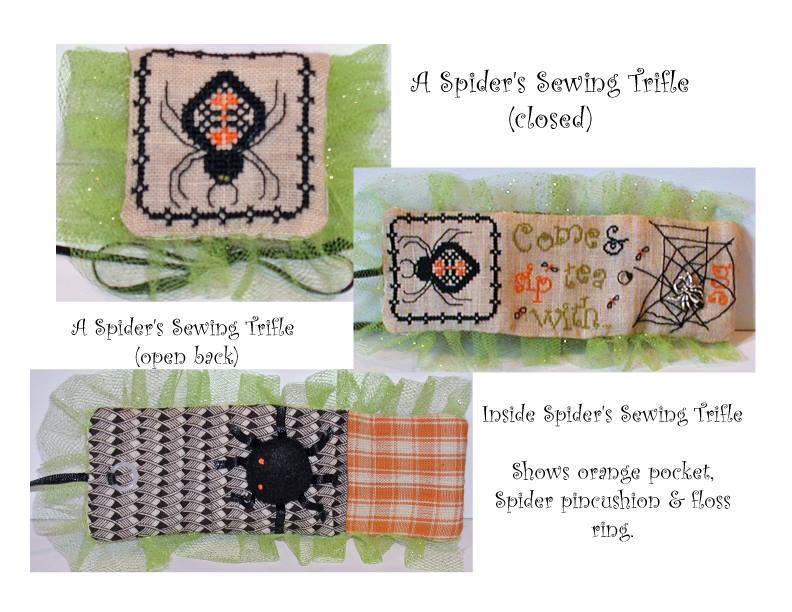 CLEARANCE Spiders Sewing Trifle LIMITED EDITION Kit Praiseworthy Stitches - $10.50