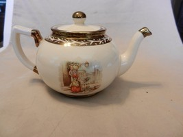 Arthur Wood Ceramic Tea Pot Old Chelsea Scenes from England #396G - $98.99