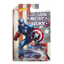 NEW Mattel Hot Wheels 1:64 Die Cast Car Marvel Captain America & Bucky S... - €12,79 EUR