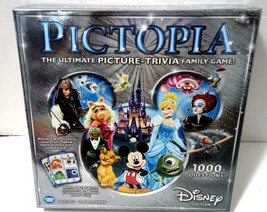 *NEW*  Disney Pictopia Family Trivia Strategic Thinking Game Disney Edit... - $18.53