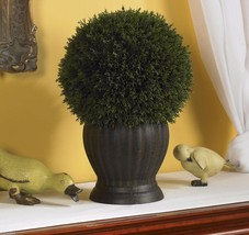 Cedar Ball Topiary Silk Plant new home decor - $73.90