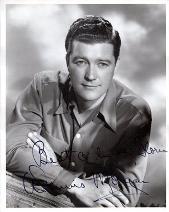 Primary image for DENNIS MORGAN Vintage Autograph on 8x10 B&W Photograph, nicely signed