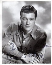 DENNIS MORGAN Vintage Autograph on 8x10 B&W Photograph, nicely signed - $79.19