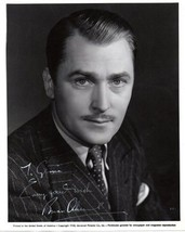 BRIAN AHERNE Vintage Autograph on 8x10 photograph, nicely signed. - $98.99