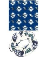 Tampa Bay Rays Hair Scrunchies by Sherry MLB Ba... - $12.95