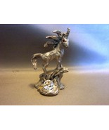 Vintage Spoontiques Fantasy Mythical Unicorn Fine Pewter Figurine  - $7.99