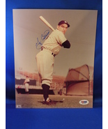YOGI BERRA HOF 1972 YANKEES 3X AL MVP SIGNED 8X10 PHOTO PSA - $99.99