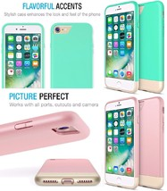 Fusion Case For Apple iPhone 7 Rose Gold Slim Hard Cover Protective Skin... - $21.27