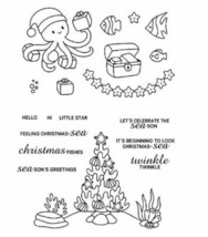 Cute Underwater Christmas Stamp Set - Perfect for Card Making!