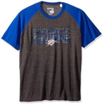 Large Men's NBA Oklahoma City Thunder Dazzler ClimaLite Tee Shirt T-Shirt NEW