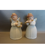 HOMCO Porcelain Christmas Bells: Angels with Musical Instruments Number ... - $6.49