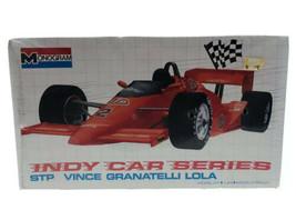 1989 Monogram STP Vince Granatelli Lola Indy Car 1:24 Model Kit # 2795 - $18.79