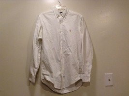 Great Condition Ralph Lauren 100% Cotton White Collared Button Up