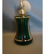 Holmspray Perfume Bottle Extensive Gold Designs Western Germany - $16.99