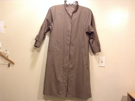 Great Condition London Fog Brown Coat 2 Pockets Polyester Blend Detachab... - $128.69