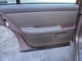 Buick Park Avenue Left Rear Door Trim Panel Oem Used 1998 1999 2000 2001 2002 - $127.71