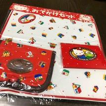 Sanrio Vintage Sanrio Retro Handkerchief Kitty Kero Kero Keroppi New Rar... - $38.64