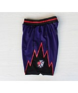 Toronto raptors shorts classic throwback swingman purple athletic apparel 2 thumbtall